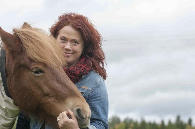 Lotta Corell på Ersta flickhem. Bild: Johan Almblad