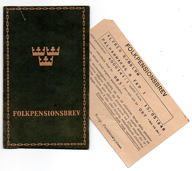Folkpensionsbrev