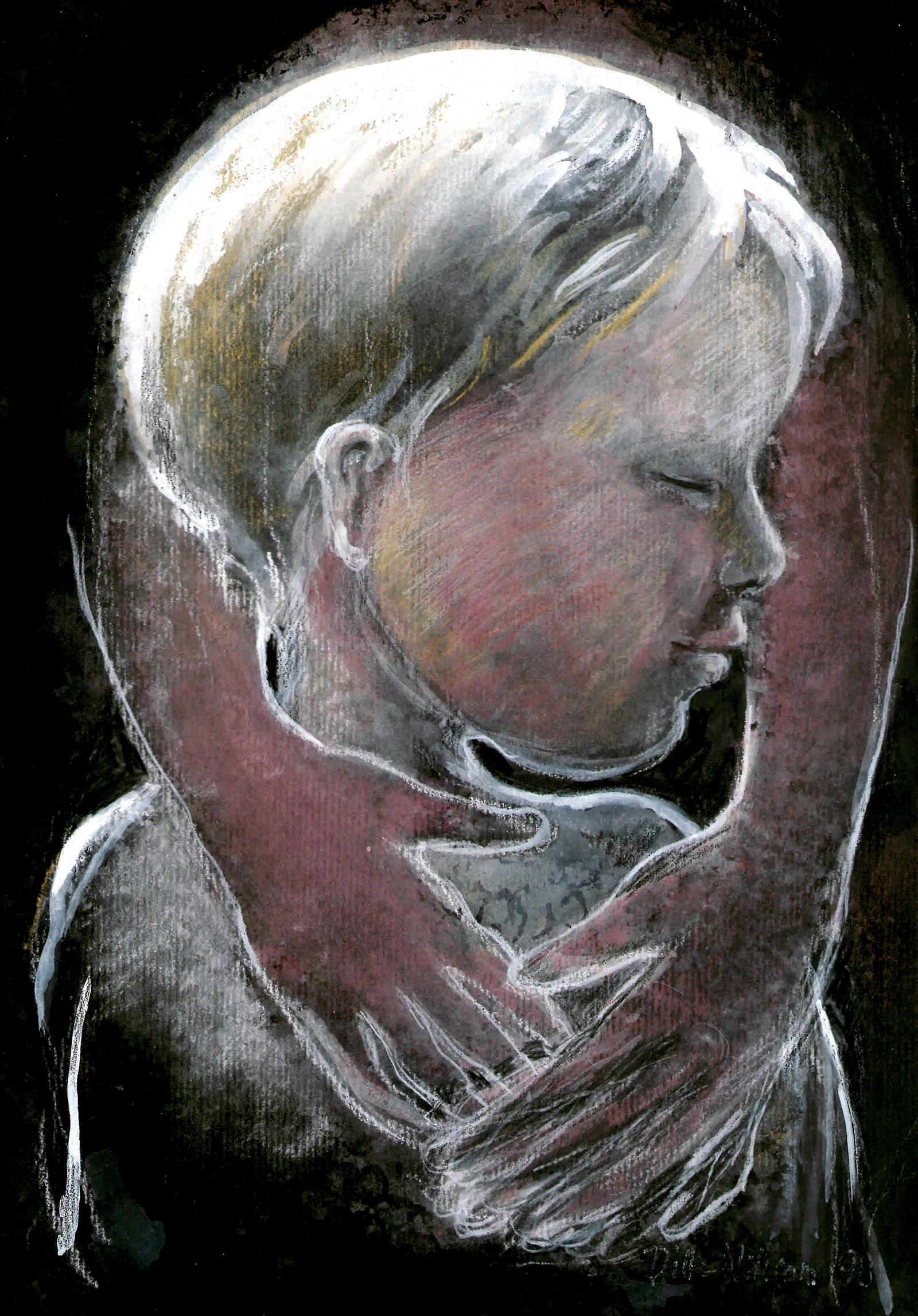 allmänna barnhuset våld mot barn