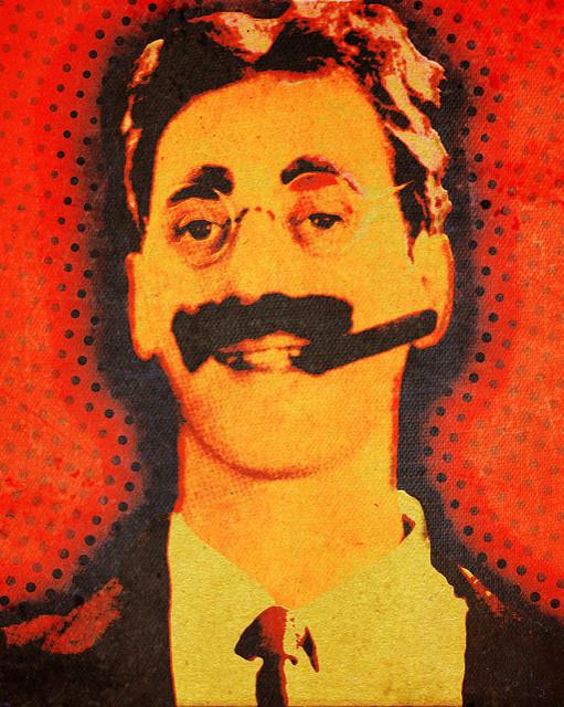 Groucho på ständigt repeat