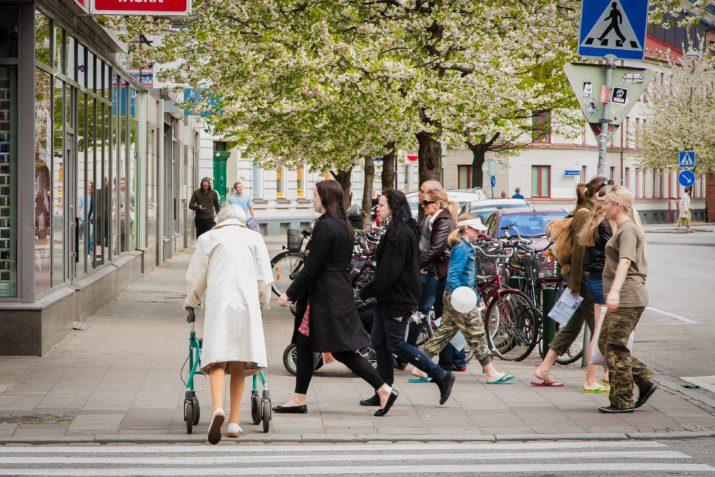 Välfärden fortfarande ofärdig för äldre. Bild: Frans Oddner