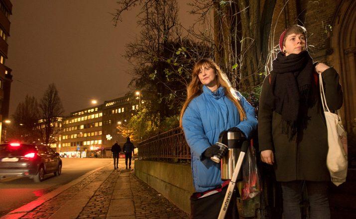 Den ideella föreningen Rosenlundsstödet. Foto: Anna Rehnberg