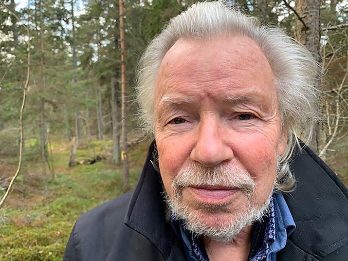 Medicinmannen Mats Wahl. . Fotograf: Liv Hök